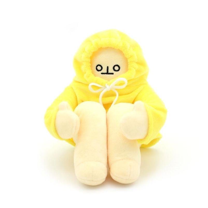 40cm woongjang bonecas brinquedos de pelúcia banana homem bonecas macio korease popular apaziguamento bonecas kawaii aniversário brinquedos para crianças bebê 201222