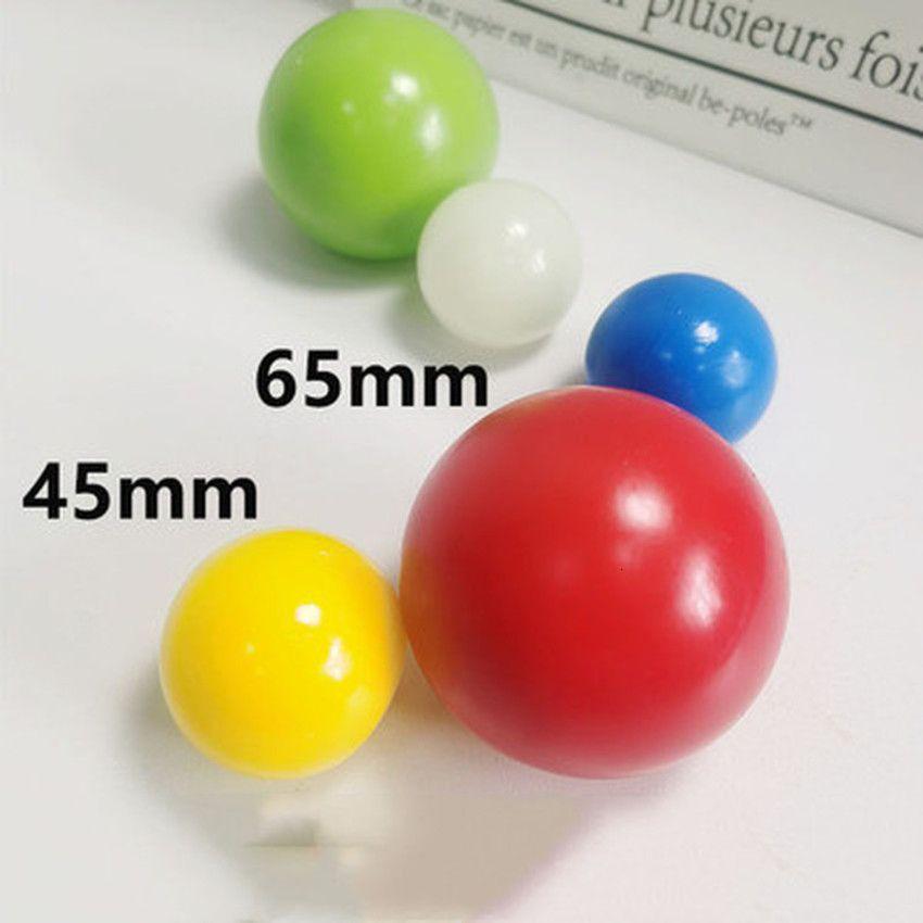 1 / 4pcs Stick Wall Sticky Catch Throw Ball Globe News for Children Girls Indoor Game Illuminazione Effetto 2020 Nuovo Z7CL