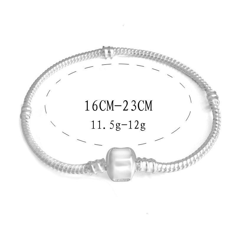 Sterling 925 3mm Charme Kette Schlange Silber Armbänder Perle Bangle Armband Schmuck Geschenk Für Männer Frauen