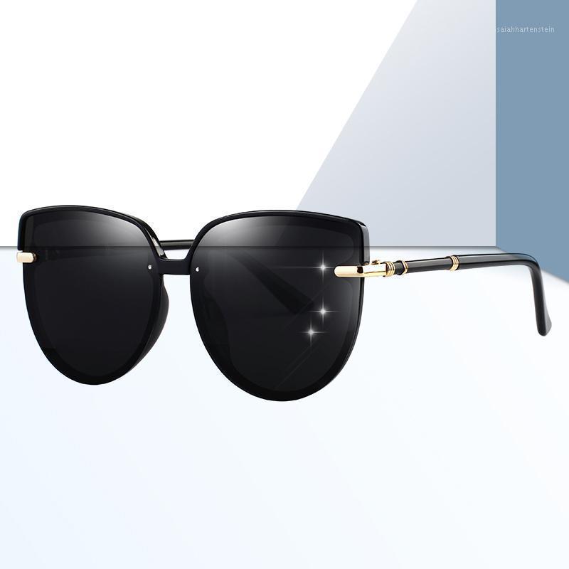 2020 lunettes de soleil polarisées dames chat yeux lunettes de soleil lunettes de soleil Voyage extérieur Polariod Matériel Lentions UV400 Protection Eyewear1