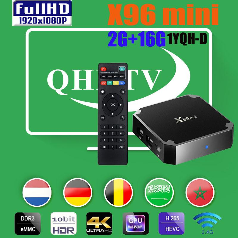 Bonne stable X96 Mini Smart Android TV Box Amlogic S905W 2GB RAM 16GB ROM WiFi Set Top Box X96Mini vs X96Q MXQQPRO TX3