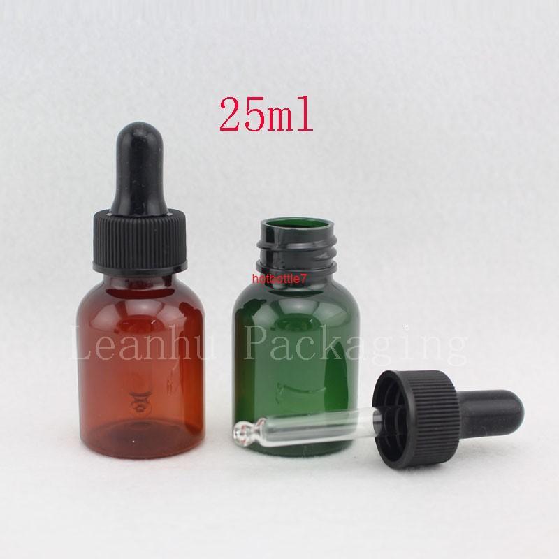 에센셜 오일의 도매 25ml 병 공식화 기름, 플라스틱 DIY 병, 개인 관리, 50pcshigh qualtity