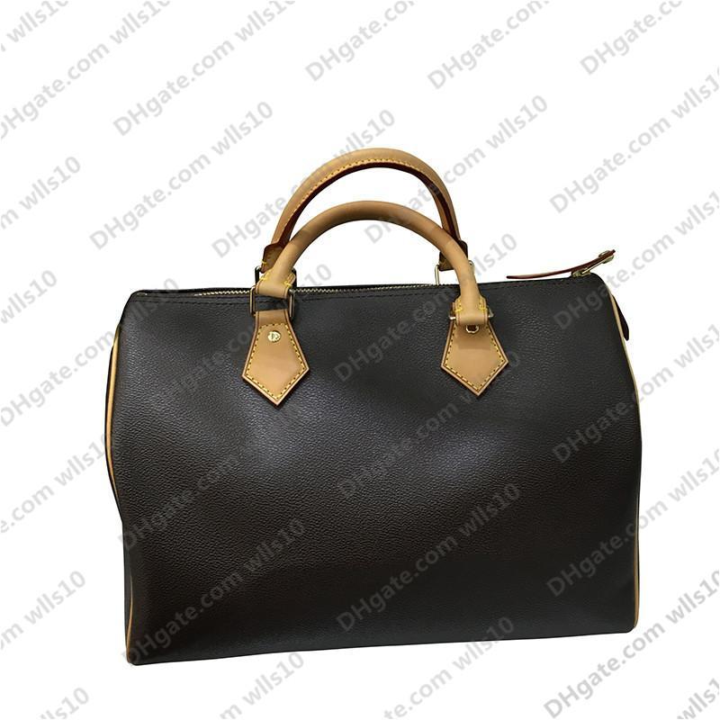 Bolsos de bolsos Bolsa de mujeres estilo clásico bolsas de moda bolso de mujeres Sin bolsas de hombro Lady Totes Bolsos bolsos Monederos SPEEDY 25 30 35