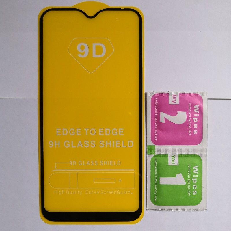 Protector Glass 10 шт. Закат 9D Экран Полный клей для San Star Galaxy A9S / A8S / A6S с пакетом Бесплатная доставка