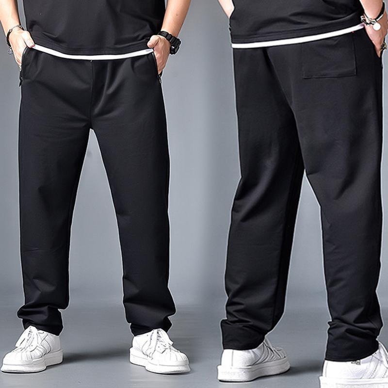 Erkek Pantolon 6XL 7XL Yüksek Sokak Rahat Spor Erkekler Büyük Boy Jogging Süper Marka Kalitesi
