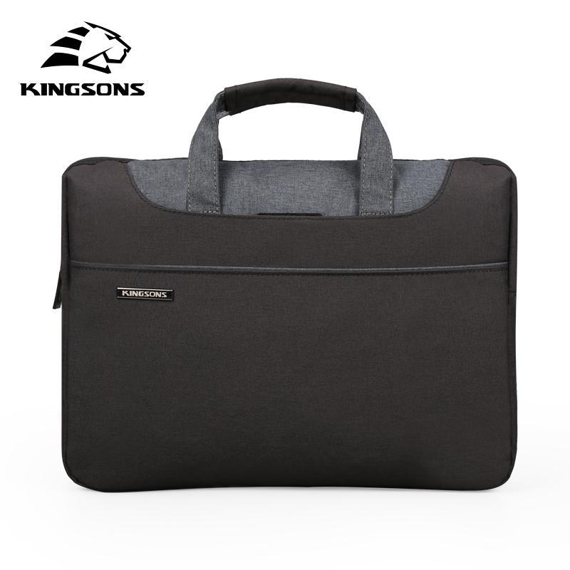 Kingsons Borse a mano per laptop di alta qualità per le donne Bussiness Bussiness Bag a mano grande capacità adatta 11 13 14 14 pollici Laptopa