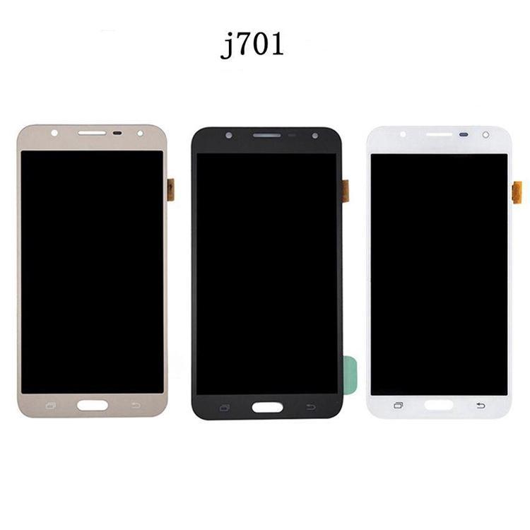 100% Samsung Galaxy J701 J710 için Test Edilen Ekran Dokunmatik Ekranlı LCD Dokunmatik Ekran Digitizer