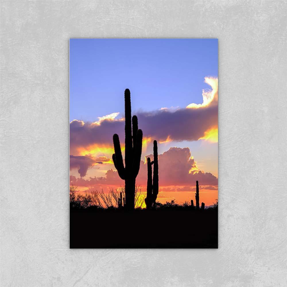 Decorated Abstract Picture Art Paints on Canvas Desert Sunset Sunset McDowell DA TE Pittura a olio su tela su tela Arredamento da parete 24x36 pollici