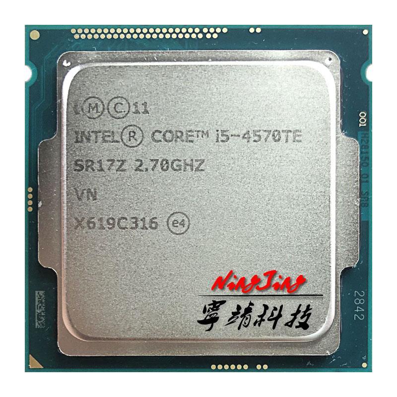 Intel Core I5-4570te I5 4570te 2,7 GHz Dual-Core Quad-thread Processor CPU 4M 35W LGA 1150