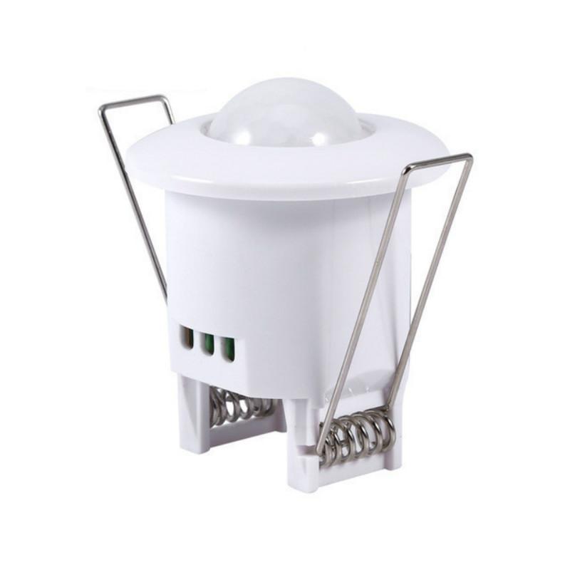 Mini sensore sensore di movimento a infrarossi a 360 gradi rilevamento PIR rilevamento da incasso da incasso da incasso da incasso del sensore di movimento del rilevatore del rilevatore della lampada della lampada