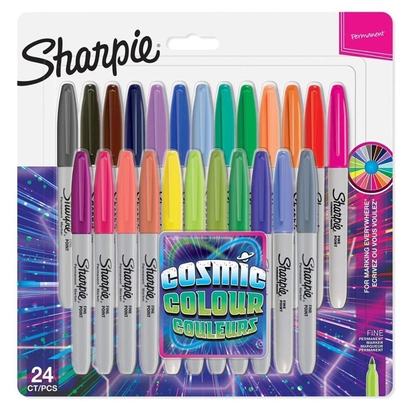 8/12/24 PCS Situado Sanford Sharpie Marker Marker Pens Colored Markers Art Caneta De Cor Permanente Marcador De Cor Escritório Papelaria 1mm Nib 201125