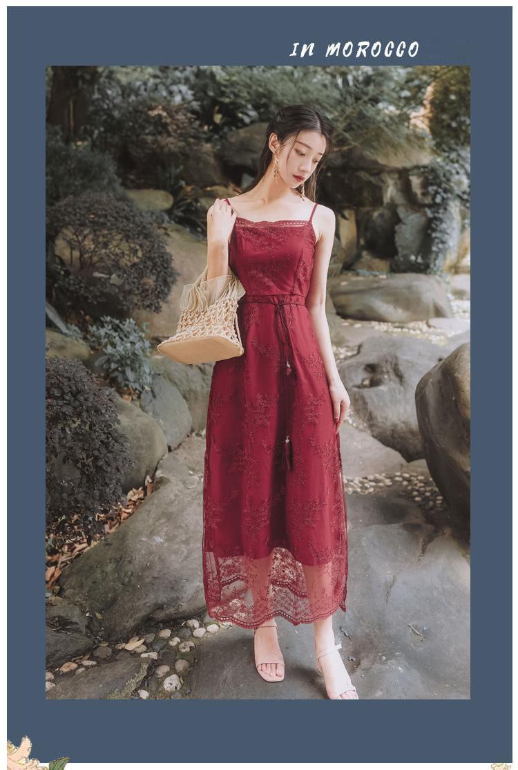 Dana Meads Spagetti Kuşak Uzun Kadın Elbise 2021 Vintage Kadın Kollu Olmadan Zarif Yaz Geceleri İşlemeli Parti 8ita Giydirdi