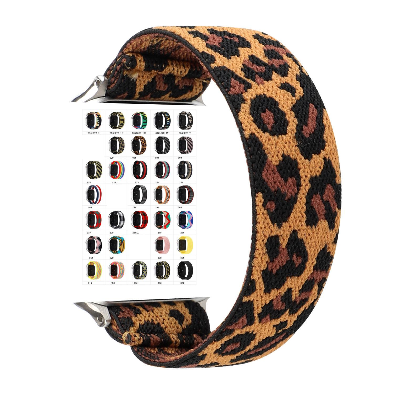 مصمم حزام تمتد ل Apple Watch 42mm 38MM 40MM 44MM سوار Watchband الفاخرة ل IWatch Series 6 5 4 3 Bands
