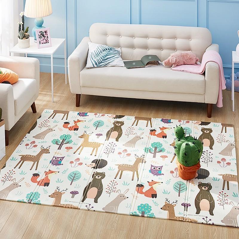 XPE bebê espuma jogar tapete tapete de rastejamento de tapete infantil crianças dobrável crianças escalada tapete brinquedos home room decoração playmat actividade de ginásio q1120