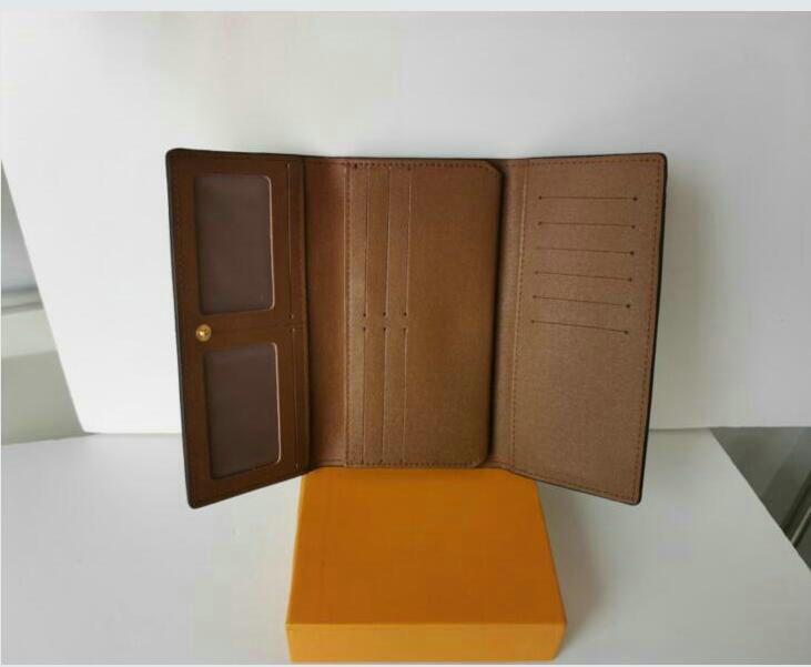 المرأة المحفظة واحدة zippy محافظ بطاقة الائتمان حامل رجل جلد طبيعي محفظة بطاقة حامل طويل الأعمال min2157