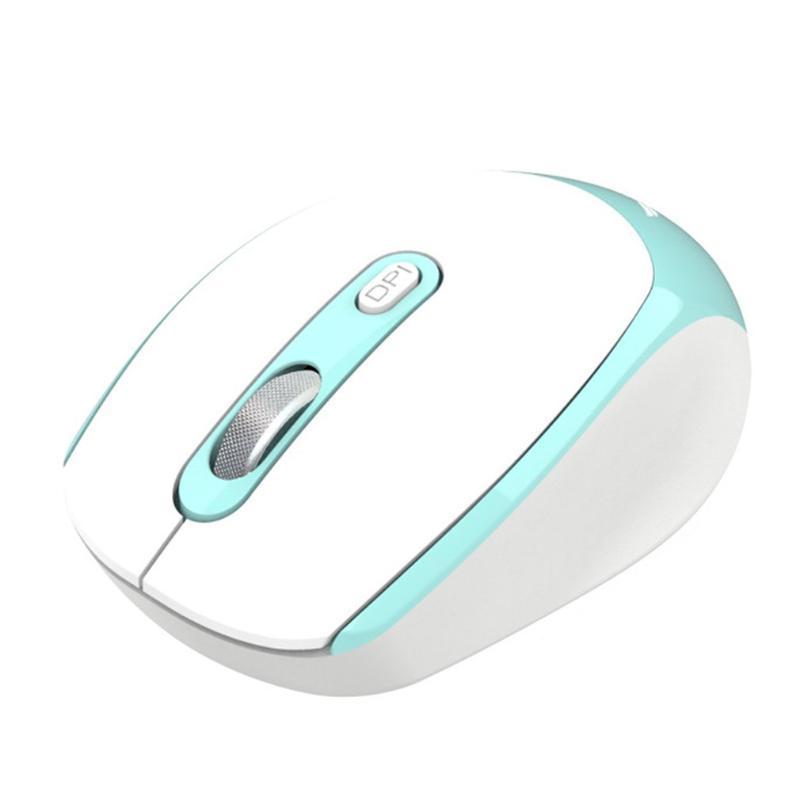 Bewegliche drahtlose ergonomische Maus Mute Notebook PC-USB-Maus Cordless Stromspar Computer Laptop
