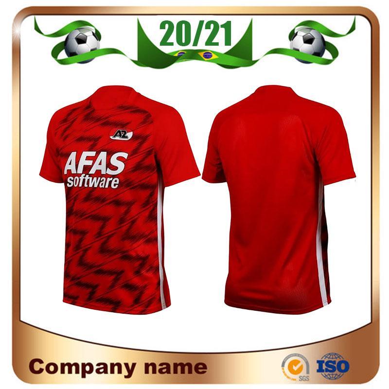 NCAA 20/21Alkmaar AZ Soccer Jerseys 2020 Home Red STENGS BOADU DE WIT Soccer shirt EVJEN CLASIE football uniform sale