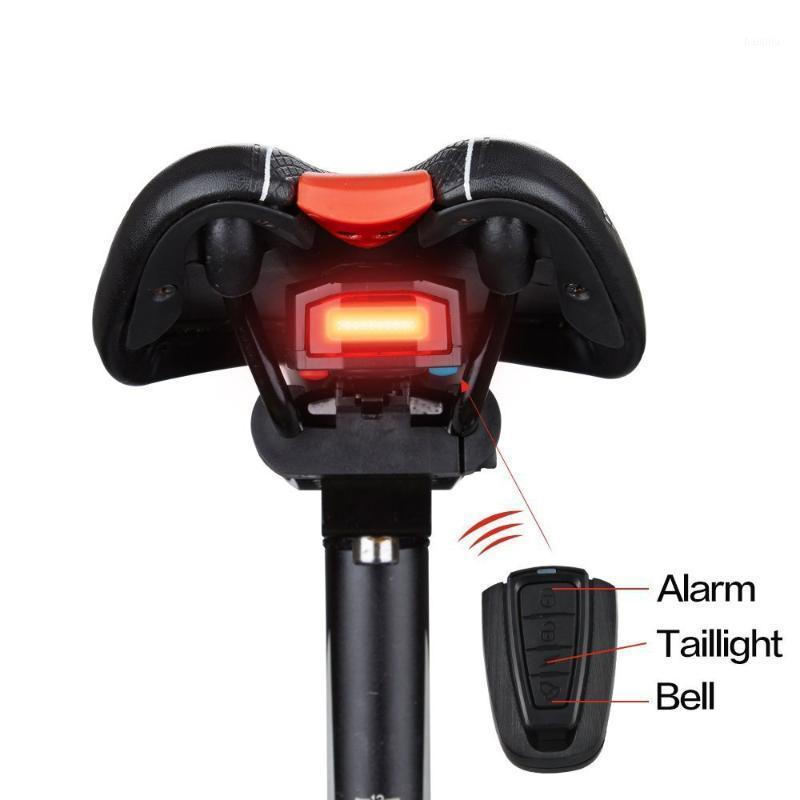 Antusi inteligente de bicicleta traseira luz inteligente sensor anti-roubo barraca de bicicleta taillight usb recarregável ciclismo flash lâmpada de cauda1