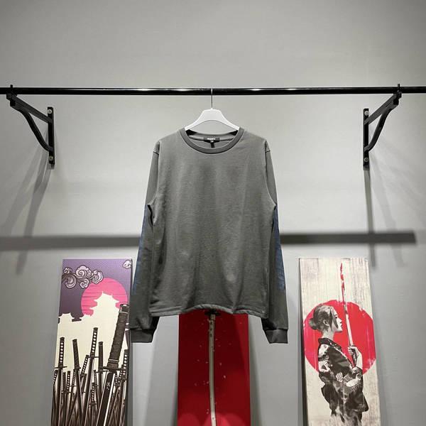 Frauen Männer Saison6 Calabasas Smoky Grey Kkanywest Langarm High Street Waschen T-Shirt Hoodies Jumper Sweavtshirts