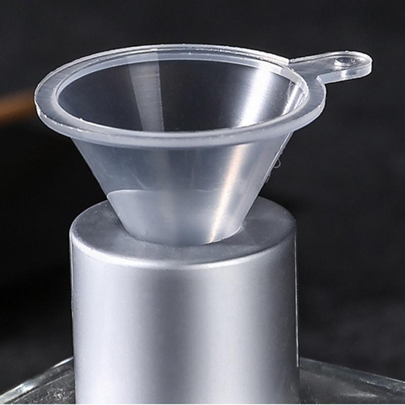 Portable Transparent Mini Funnels Small Plastic Bottleneck Bottles Packing auxiliary tool Kitchen Bar Dining Accessory DWD3067