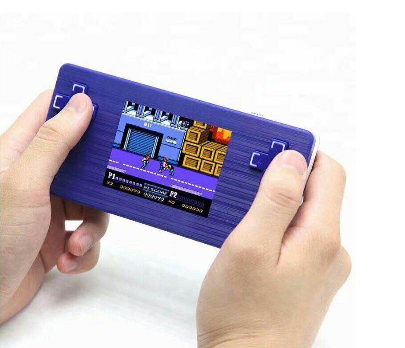 Видеоигра Консоль 8 бит 2,8 дюйма портативное видео портативное изображение игрока встроенный 260 против x7 x12 620 рождественские дети подарок