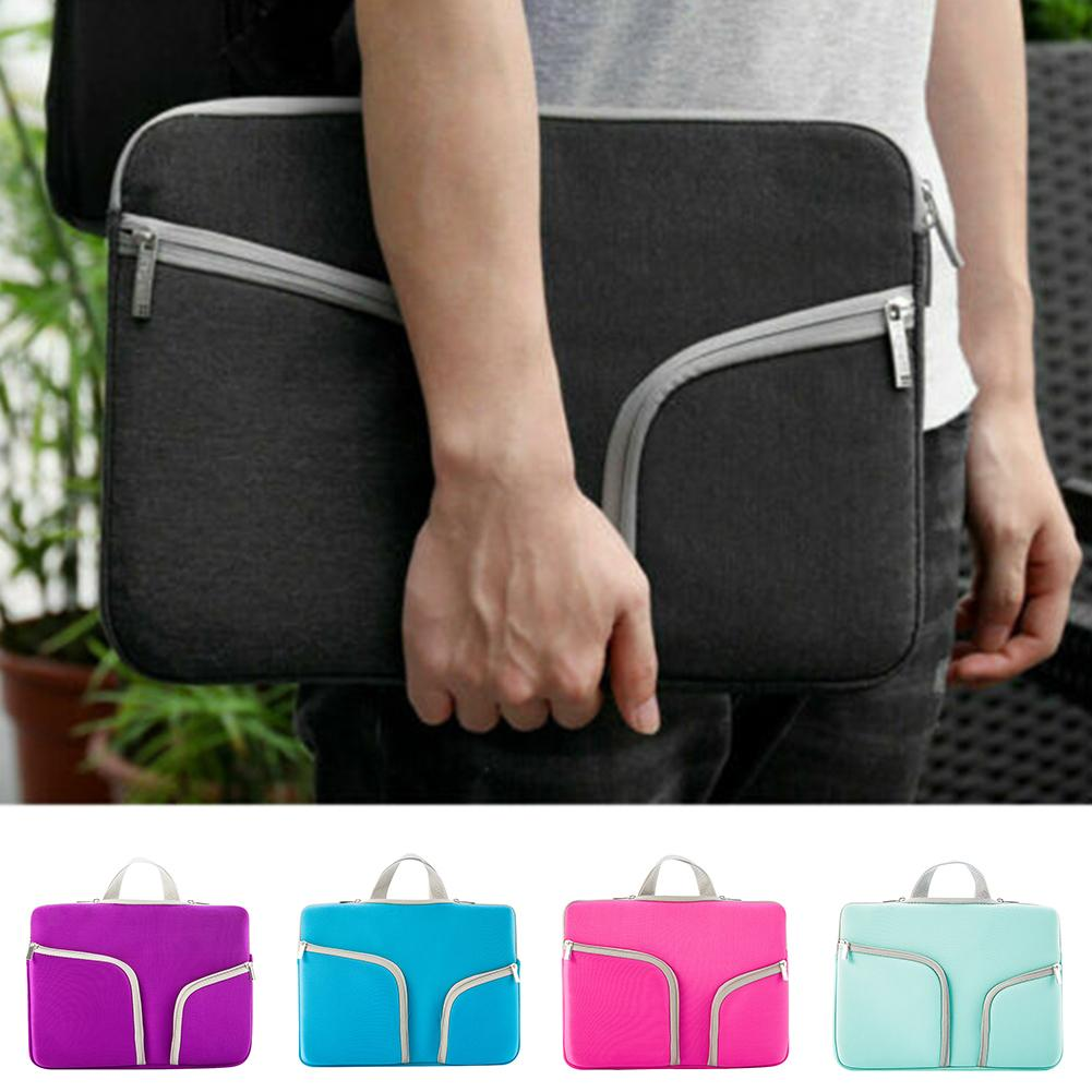 HBPLight-weight Laptop Protective Bag Pouch Case Casual Notebook Carry Handbag For Macbook Air/ Pro/ Retina Q0112
