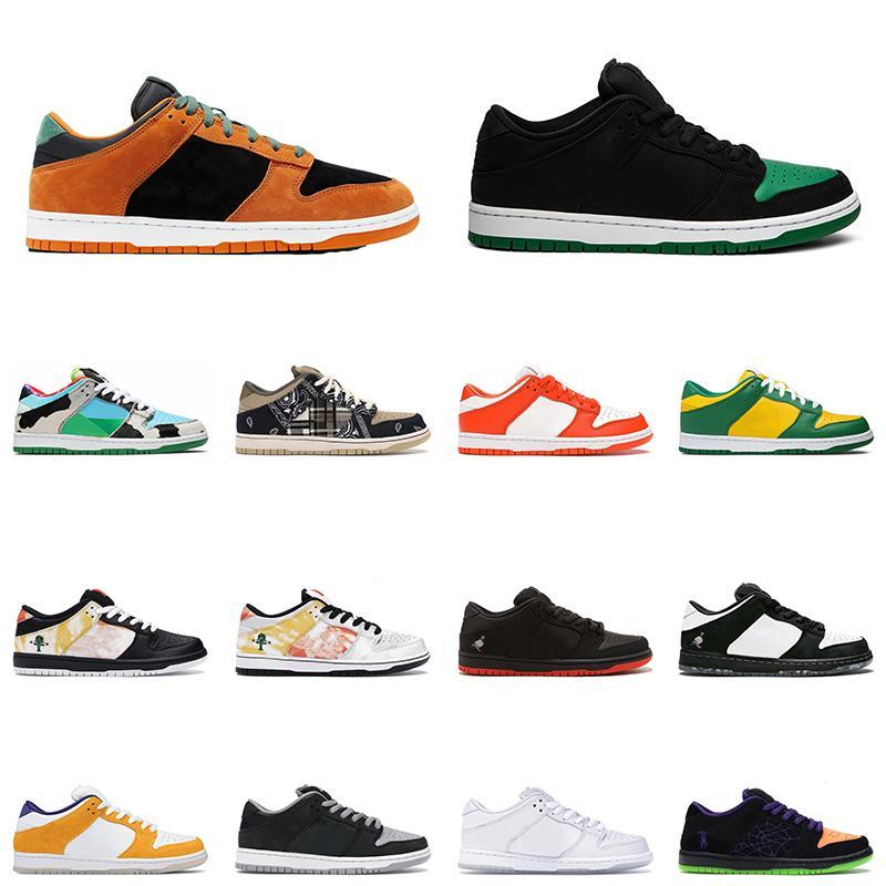 Yeni Erkek Kadın Düşük Dunk Seramik Tıknaz Dunky Koşu Ayakkabıları Brezilya Gölge SB \ Rdunk Erkek Trainer Spor Sneakers Boyutu 36-45