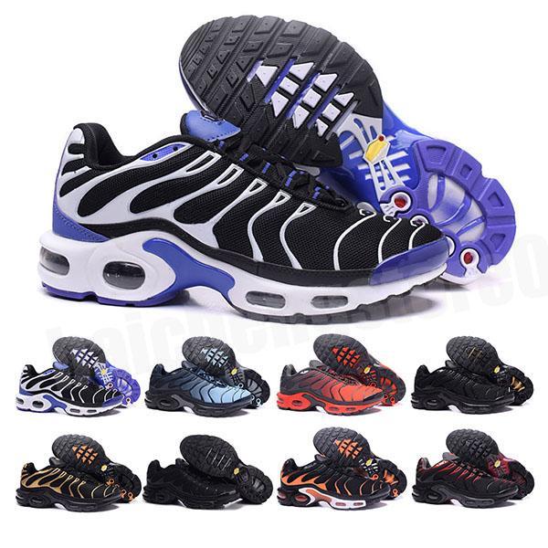 Freie 2021 Top Qualität Herren Tn Casual Schuhe Günstige Korb Requin atmungsaktives Mesh Chaussures Homme Noir Zapatillae Tn Schuhe 36-46