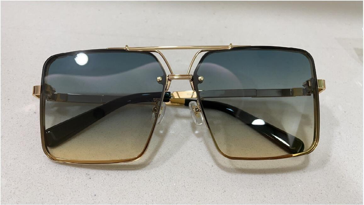 Новые Gafas Quality 1109 De Солнцезащитные очки Мужчины Солнцезащитные Очки Женщин Солнцезащитные Очки Модный Чехол Защищает Глаза с De Top Lunettes Sol Мужская SOLEIL S KKEE