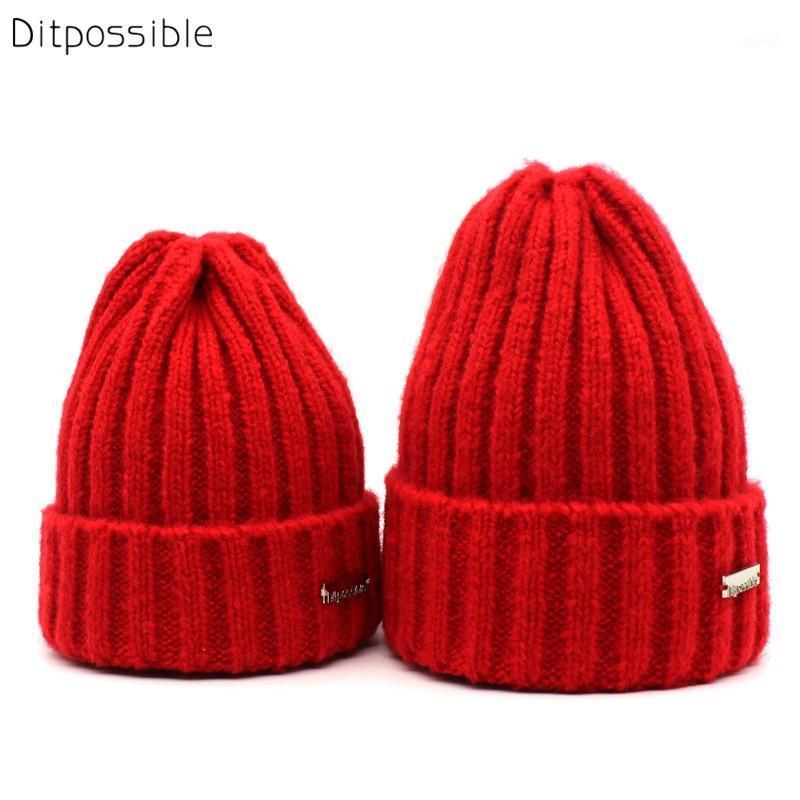 Cappello di lana ditpossibile cappello di lana trypost donna inverno cappello unisex bambini età 3-8 year vecchio skullies gorro berretti cappelli ragazzi ragazze calore1