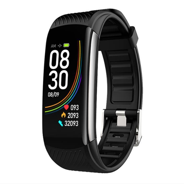 판매 6 색 C6T Smartwatch 피트니스 트래커 스포츠 팔찌 심박수 혈압 스마트 시계