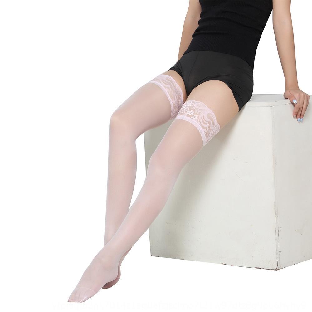 BYL1 Длинные сексуальные женщины нескользящие высокие полосы остаются в чулках бедра силиконовые чулки Шелковые женщины039; S летние дамские чулки