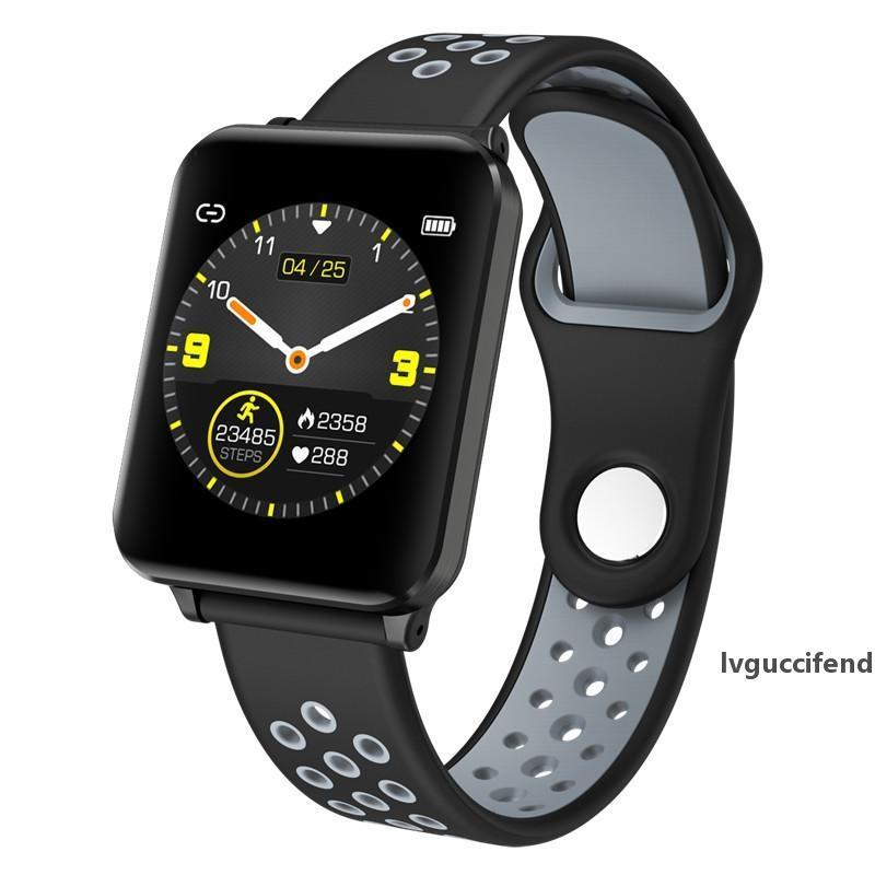 P1 SmartWatch Reloj Monitor de ritmo cardíaco Presión arterial Deportivo Fitness Tracker Smart Watch Hombres Mujeres para iPhone Teléfono celular Android