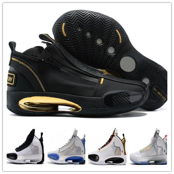 XXXIV PF J34 Blue Void Bred Basketball Chaussures 2020 Hommes Formatrices Baskets Baskets Athlétique Best Sport pour hommes Yakuda Bottes locales en ligne