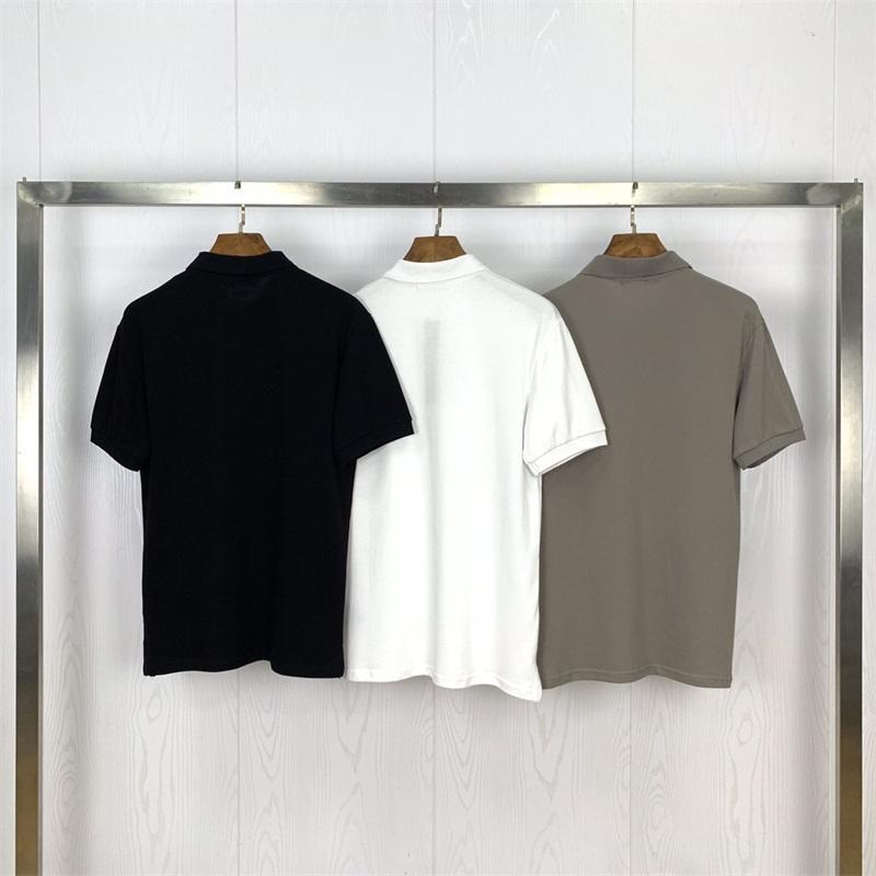 20SS Mens стилист футболка мода мужчины женские буквы печати летняя футболка стилист футболки с коротким рукавом Tees 2021