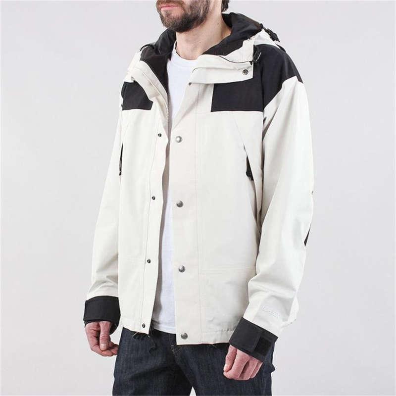 Primavera estilo casual estilo esportes ao ar livre costurando collar-colorido blazer com capuz impermeável impermeável moutain jaquetas 5 cores tamanho M-3XL