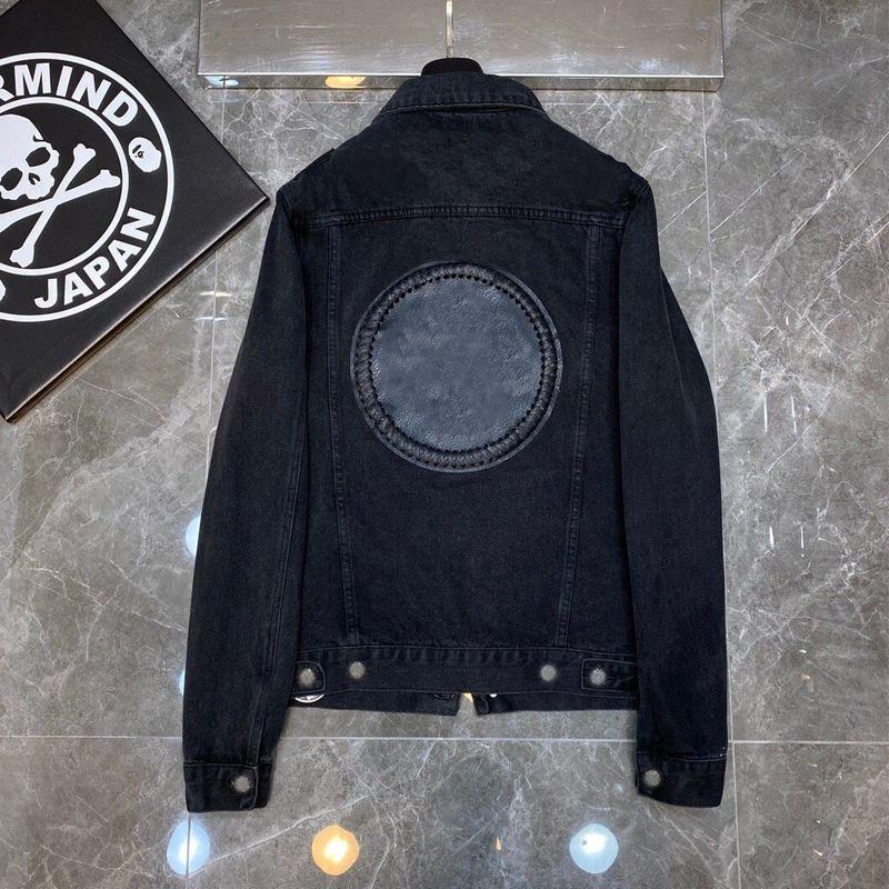 Hombres diseñadores Ropa 2020 Hombres Denim Jacket Mujer Moda Casual Abrigos Negro Azul Cortavientos Estilista Outwear Jean Ropa Tamaño S-XL
