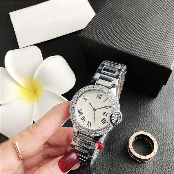 37.8mm moda uomo orologio sportivo donna donna in acciaio cinturino al quarzo orologio in muratura in muratura quadrante quadrante orologio da uomo