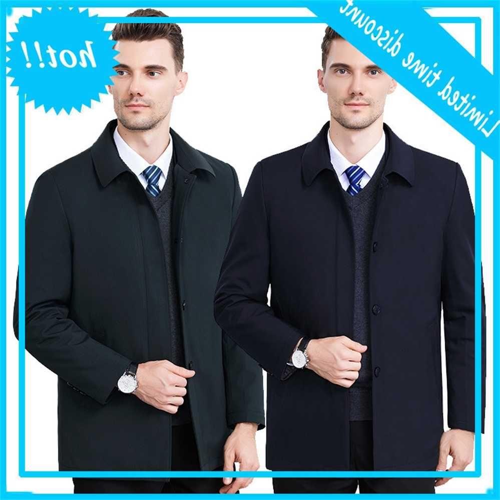 Одежда может удалить удар Среднего возраста Досуг Cato Cated Male Winter Теплые Господа Джас