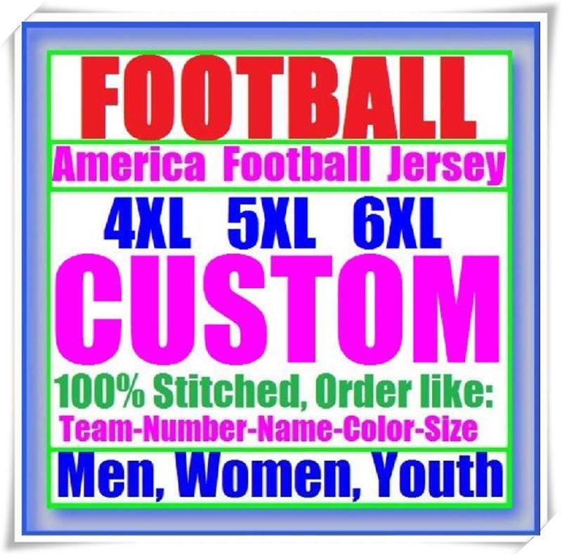Пользовательские баскетбольные бейсбольные хоккей хоккея мужчины женщин дети американский футбол трикотажные изделия паров колледжа неприкасаемый сшитый магазин Джерси 4XL 5XL 6xL
