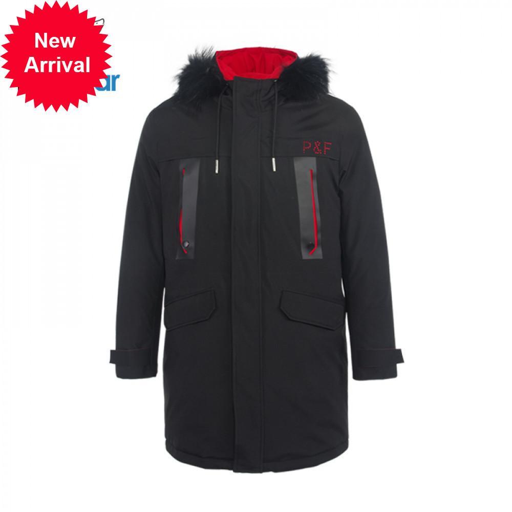 2019 neue Winter stilvolle Männer Daunenjacke mit Kapuze Mantel Lässige Mann Marke Kleidung Mwy19860D