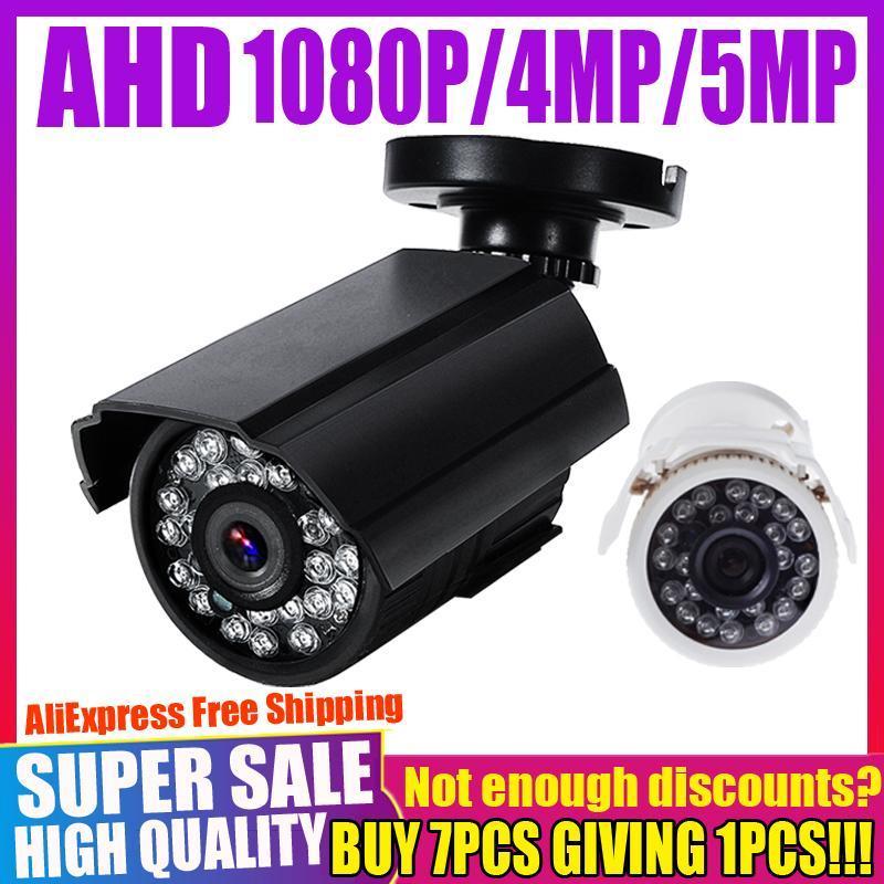 Real Sony Chip 720p 1080p 2MP 4MP 5MP AHD cámara digital completo hd cctv seguridad vigilancia mini cámara al aire libre impermeable IP66