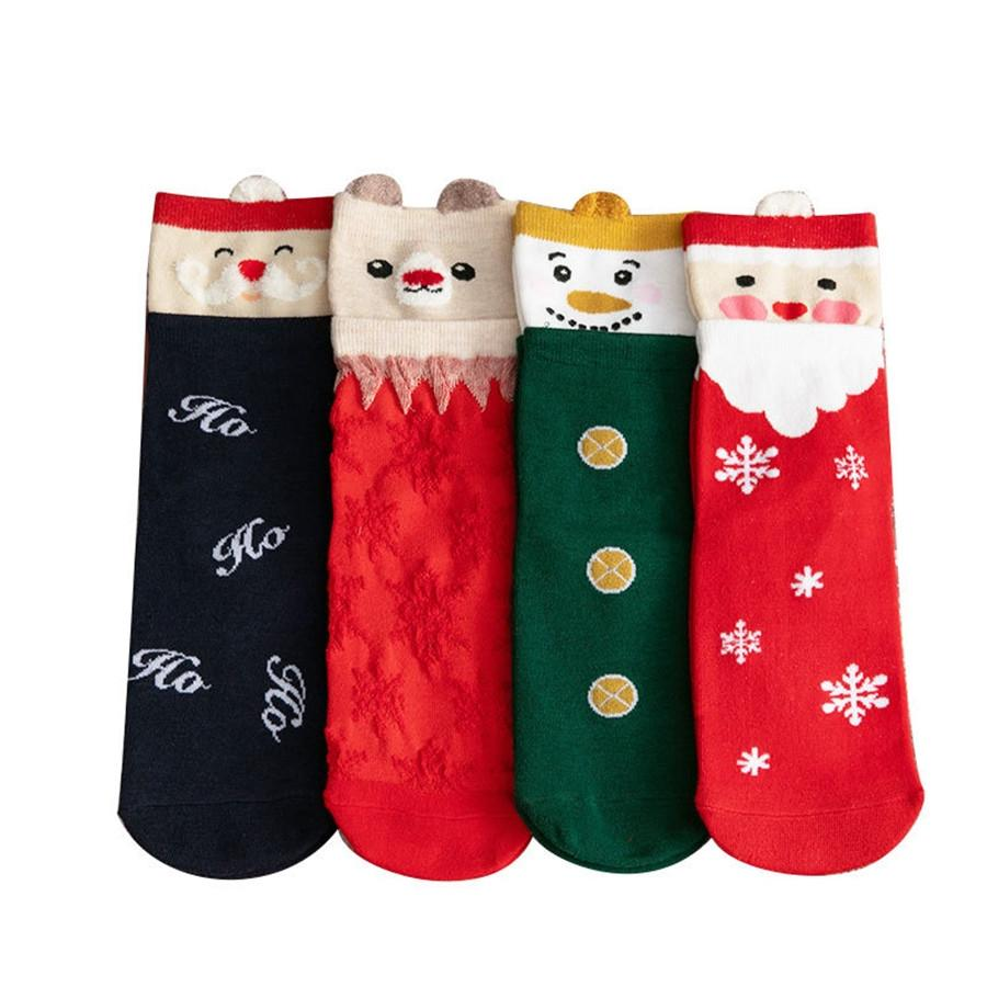 Avec Box Christmas PlantLife Chaussettes pour hommes Femmes Chaussettes en coton de haute qualité Skateboard HiPHOP Feuille d'érable Chaussettes imprimées # 591