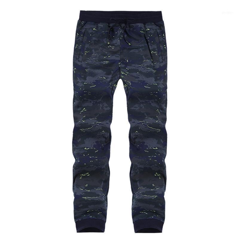 Primavera otoño camuflaje ropa deportiva pantalones para hombre chándals casual pantalón masculino como pantalones pantalones jogger pantalones más tamaño 8xl1