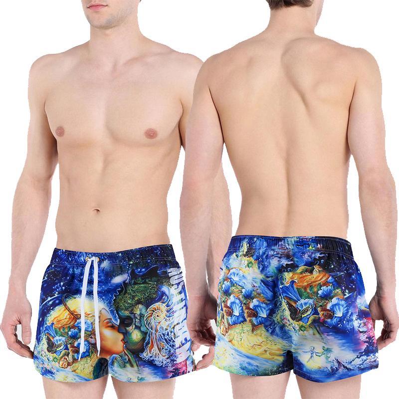 Мужские Купальники Купальник Пляжные Шорты Летние Купальники Купальники Купальники Мужские Купальники Boacher Beachwear Maillot De Bain Homme