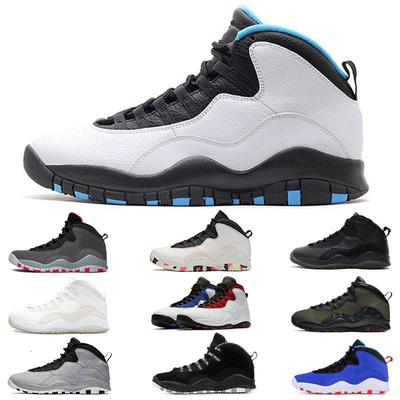 Новые 10 10s Сиэтл Стальная пустыня камуфляжная камуфляжная баскетбольная обувь Westbrook Class 2006 Tinker Chicago Bobcats Orlando кроссовки спортивная обувь 7-13