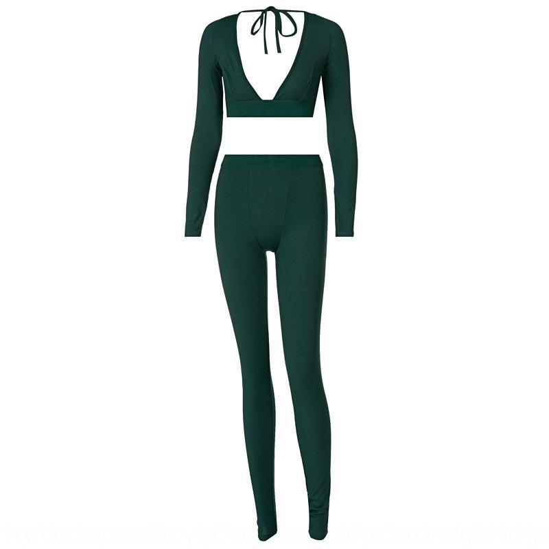 DCMQ 2 кусок набор женщина молнии повседневные брюки спортивные костюм зимние женщины лоскутная спортивная одежда осень женский беговая куртка плюс размер XL