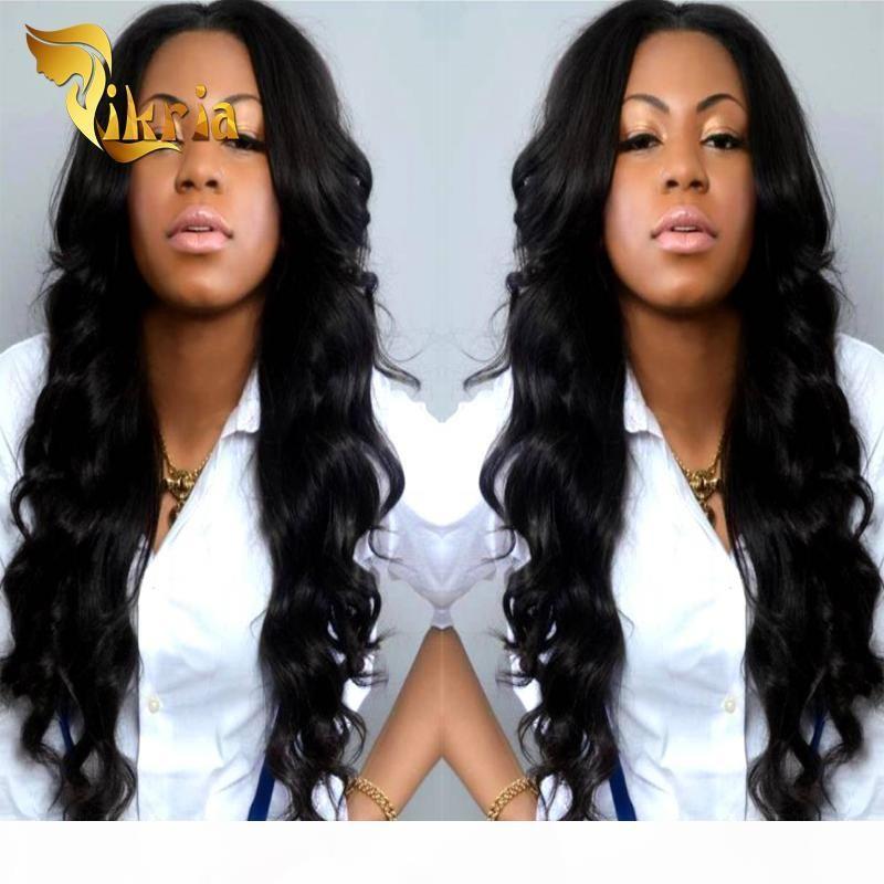 2017 novos produtos brasileiros de cabelo glúel selvagem malaio indiano peruano virgem cabelo corporal onda de renda dianteira peruca cheia perucas de cabelo humano