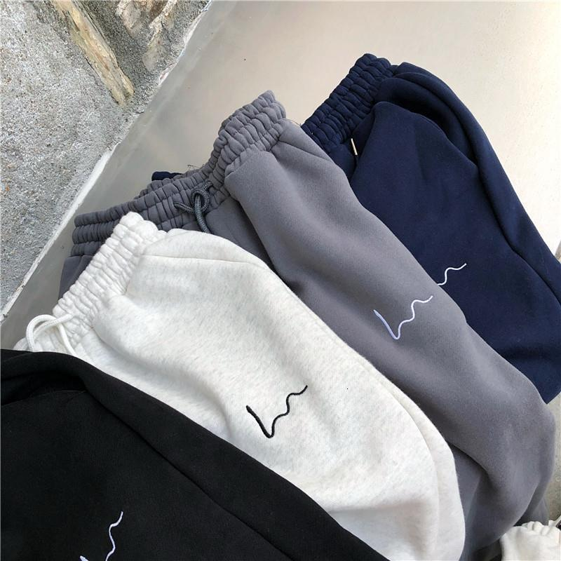 Harem Pants Women Casual Loose Korean Style Thick Sweatpants Autumn Winter Fashion New Trousers Femme Drop Shipping