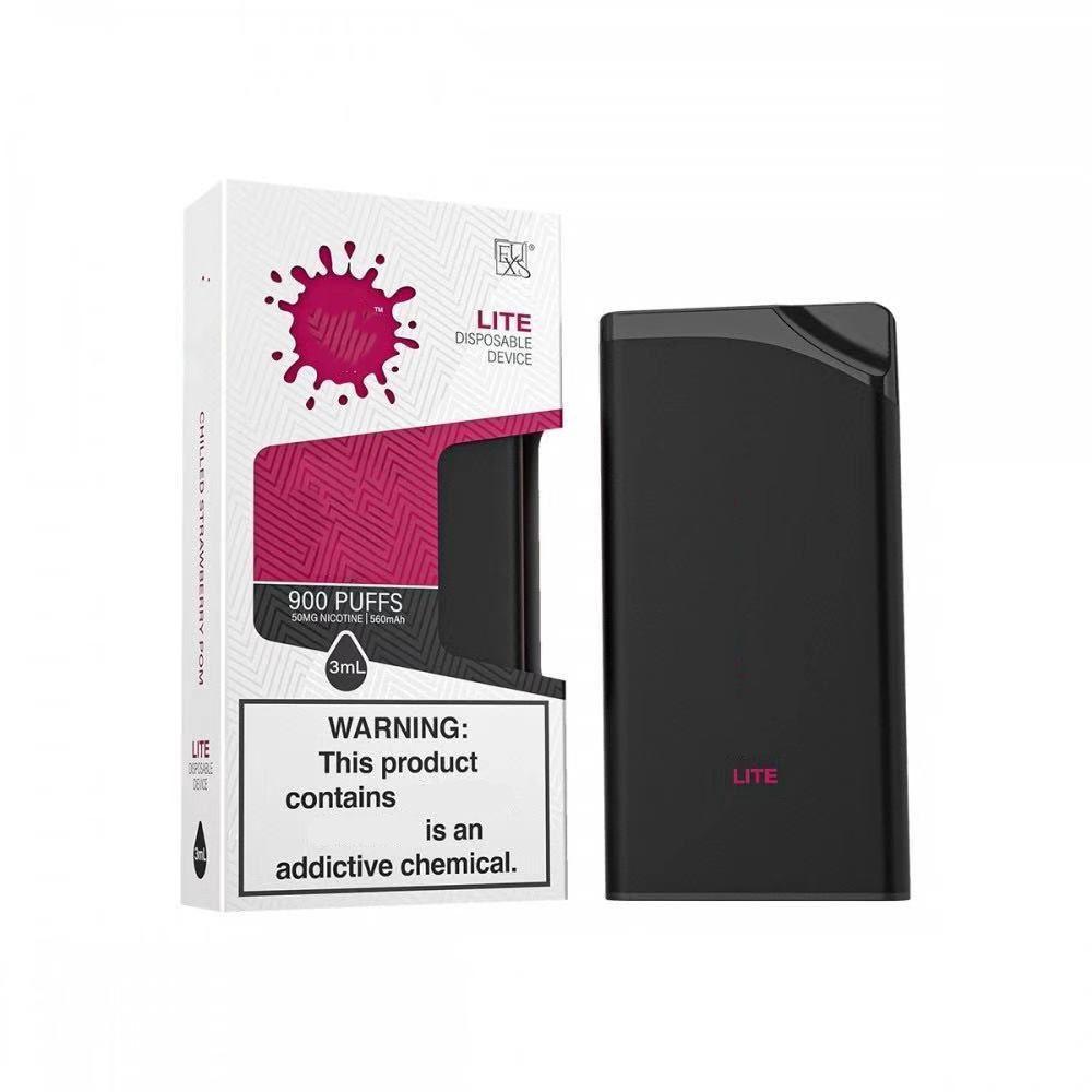LITE 일회용 vape 장치 900puffs 3ml를 포드 Cartriges 550mah 배터리 Vape 펜 에어 바 퍼프 최대 강타 XXL 플러스 선택할 9 색